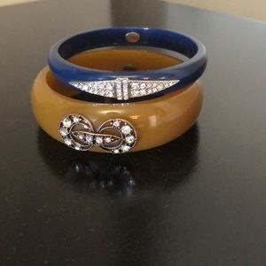 Lulu Frost for JCrew Set of Two Bangles